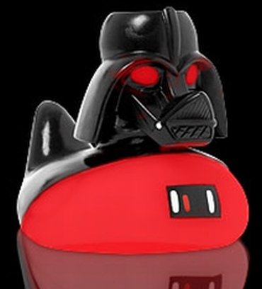 Darth Vader Crossed With a Duck