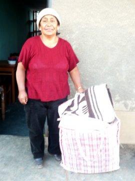 Kiva.org funded borrower Aquilina